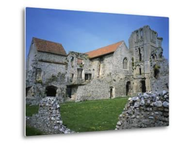 Priors Chapel and Tower from Cloister, Castle Acre Priory, Norfolk, England, United Kingdom, Europe-Hunter David-Metal Print