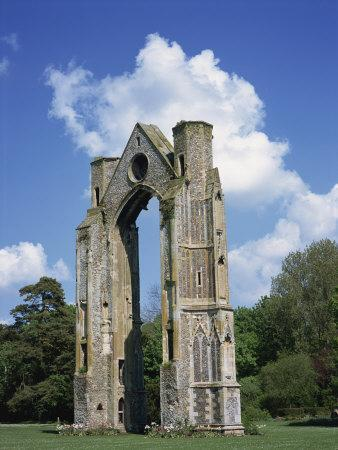Abbey Ruins, Little Walsingham, Norfolk, England, United Kingdom, Europe-Hunter David-Framed Photographic Print