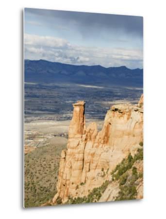 Great Colorado Plateau, Colorado National Monument, Colorado, USA-Kober Christian-Metal Print