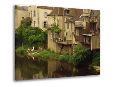 Argenton-Sur-Creuse, Indre, Centre, France, Europe-David Hughes-Metal Print
