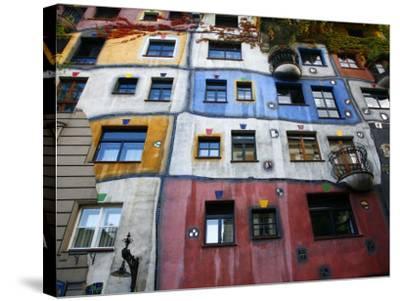 Hundertwasser House, Vienna, Austria, Europe-Levy Yadid-Stretched Canvas Print