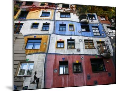 Hundertwasser House, Vienna, Austria, Europe-Levy Yadid-Mounted Photographic Print