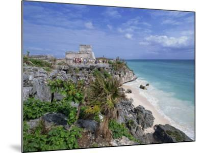 Mayan Ruins of Tulum, Yucatan Peninsula, Mexico, North America-Miller John-Mounted Photographic Print