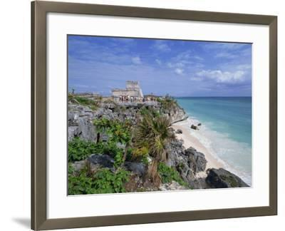 Mayan Ruins of Tulum, Yucatan Peninsula, Mexico, North America-Miller John-Framed Photographic Print