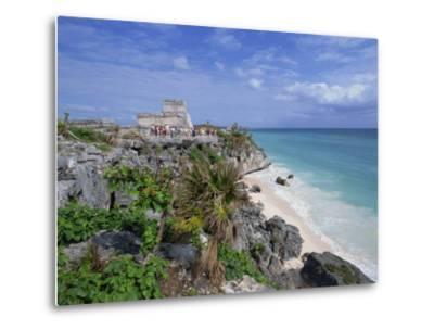 Mayan Ruins of Tulum, Yucatan Peninsula, Mexico, North America-Miller John-Metal Print