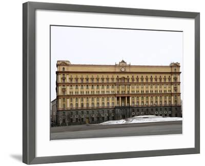 Kgb Building, Lubyankskaya Square, Moscow, Russia, Europe-Lawrence Graham-Framed Photographic Print