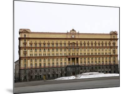 Kgb Building, Lubyankskaya Square, Moscow, Russia, Europe-Lawrence Graham-Mounted Photographic Print
