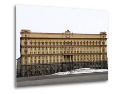 Kgb Building, Lubyankskaya Square, Moscow, Russia, Europe-Lawrence Graham-Metal Print