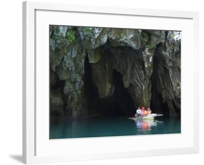 Subterranean River National Park, Sabang Town, Palawan, Philippines, Southeast Asia-Kober Christian-Framed Photographic Print