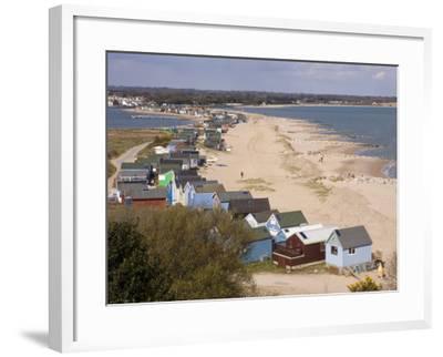 Mudeford Spit or Sandbank, Christchurch Harbour, Dorset, England, United Kingdom, Europe-Rainford Roy-Framed Photographic Print
