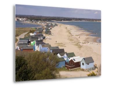 Mudeford Spit or Sandbank, Christchurch Harbour, Dorset, England, United Kingdom, Europe-Rainford Roy-Metal Print