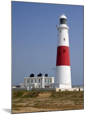 Portland Bill Lighthouse, Isle of Portland, Weymouth, Dorset, England, United Kingdom, Europe-Rainford Roy-Mounted Photographic Print