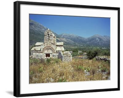 Church, Mani, Greece, Europe-O'callaghan Jane-Framed Photographic Print