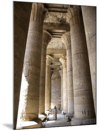 Temple of Edfu, Egypt, North Africa, Africa-Olivieri Oliviero-Mounted Photographic Print