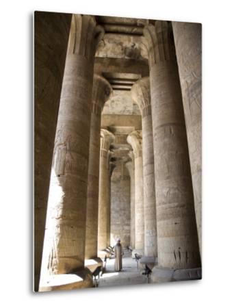 Temple of Edfu, Egypt, North Africa, Africa-Olivieri Oliviero-Metal Print