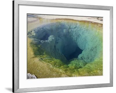 Morning Glory Pool, Yellowstone National Park, UNESCO World Heritage Site, Wyoming, USA-Pottage Julian-Framed Photographic Print