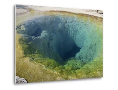 Morning Glory Pool, Yellowstone National Park, UNESCO World Heritage Site, Wyoming, USA-Pottage Julian-Metal Print