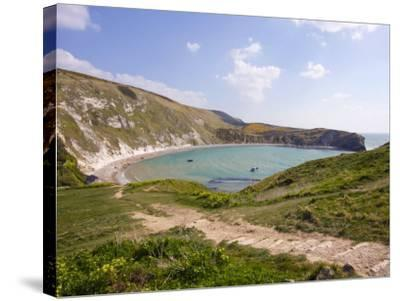 Lulworth Cove, Dorset, England, United Kingdom, Europe-Rainford Roy-Stretched Canvas Print