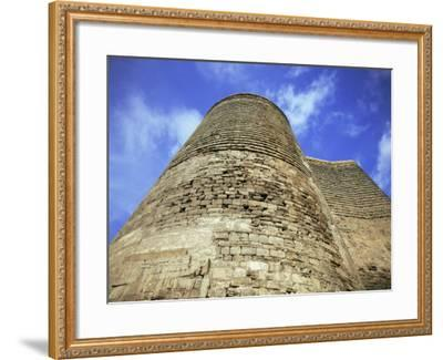 Maiden Tower, Baku, Azerbaijan, Central Asia-Olivieri Oliviero-Framed Photographic Print