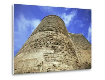 Maiden Tower, Baku, Azerbaijan, Central Asia-Olivieri Oliviero-Metal Print