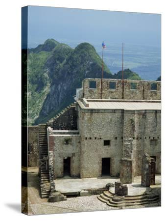 Citadelle Fort, Built in 1817, the Walls are Four Metres Thick, Milot, Haiti, West Indies-Murray Louise-Stretched Canvas Print