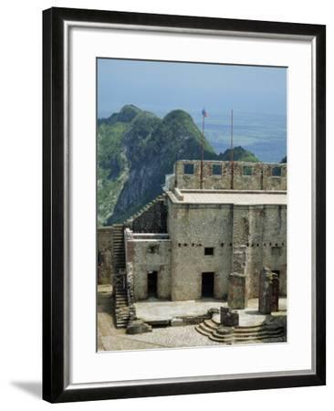 Citadelle Fort, Built in 1817, the Walls are Four Metres Thick, Milot, Haiti, West Indies-Murray Louise-Framed Photographic Print