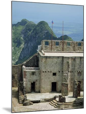 Citadelle Fort, Built in 1817, the Walls are Four Metres Thick, Milot, Haiti, West Indies-Murray Louise-Mounted Photographic Print