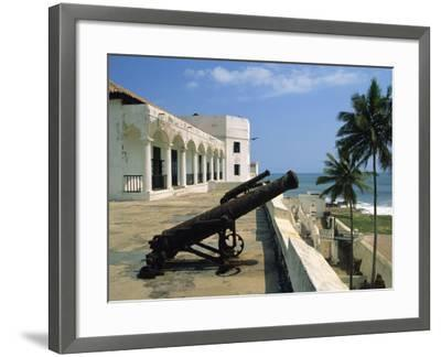 St. Georges Fort, Oldest Fort Built by Portuguese in the Sub-Sahara, Elmina, Ghana, West Africa-Pate Jenny-Framed Photographic Print