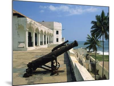 St. Georges Fort, Oldest Fort Built by Portuguese in the Sub-Sahara, Elmina, Ghana, West Africa-Pate Jenny-Mounted Photographic Print