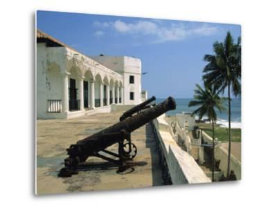 St. Georges Fort, Oldest Fort Built by Portuguese in the Sub-Sahara, Elmina, Ghana, West Africa-Pate Jenny-Metal Print