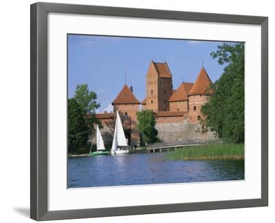 Trakai Castle in Lithuania, Baltic States, Europe-Richardson Rolf-Framed Photographic Print