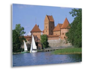 Trakai Castle in Lithuania, Baltic States, Europe-Richardson Rolf-Metal Print