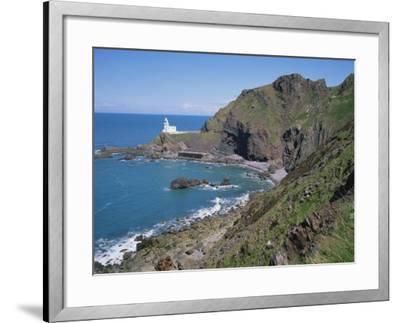 Hartland Point, North Devon, England, United Kingdom, Europe-Rainford Roy-Framed Photographic Print