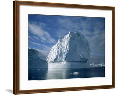Icebergs, Antarctica, Polar Regions-Renner Geoff-Framed Photographic Print