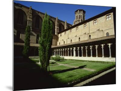 Cloister of Le Couvent Des Augustins, 14th C, Augustins Museum, Toulouse, Midi-Pyrenees, France-Rawlings Walter-Mounted Photographic Print