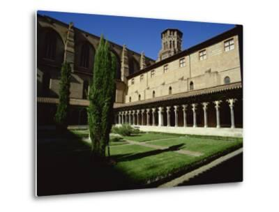 Cloister of Le Couvent Des Augustins, 14th C, Augustins Museum, Toulouse, Midi-Pyrenees, France-Rawlings Walter-Metal Print