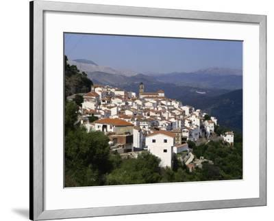 White Village of Algatocin, Andalucia, Spain, Europe-Short Michael-Framed Photographic Print
