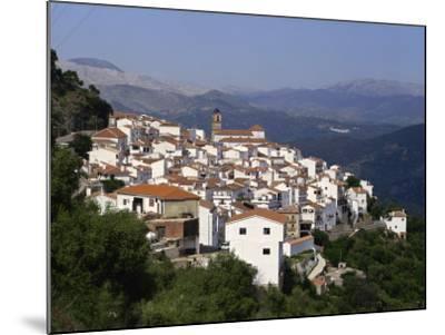 White Village of Algatocin, Andalucia, Spain, Europe-Short Michael-Mounted Photographic Print
