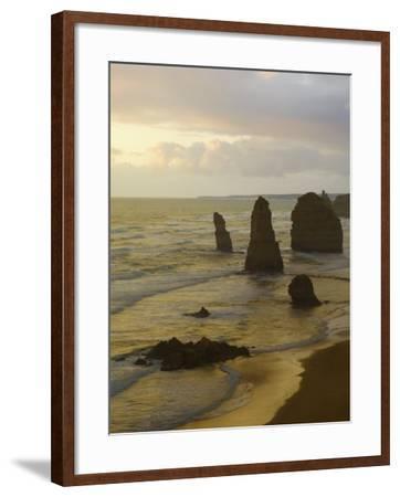 Twelve Apostles, Port Campbell National Park, Great Ocean Road, Victoria, Australia, Pacific-Schlenker Jochen-Framed Photographic Print