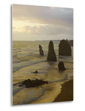 Twelve Apostles, Port Campbell National Park, Great Ocean Road, Victoria, Australia, Pacific-Schlenker Jochen-Metal Print