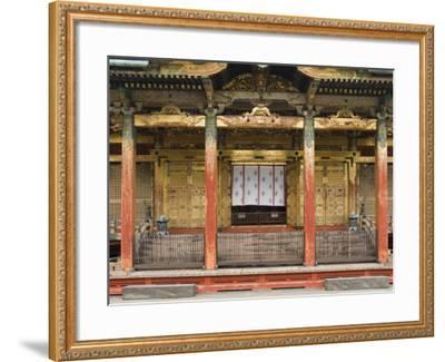 Ueno Toshogu Shrine, Tokyo, Central Honshu, Japan-Schlenker Jochen-Framed Photographic Print