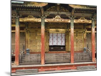 Ueno Toshogu Shrine, Tokyo, Central Honshu, Japan-Schlenker Jochen-Mounted Photographic Print