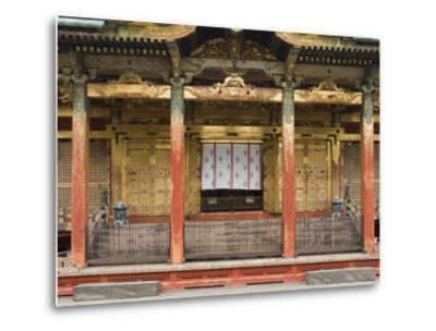 Ueno Toshogu Shrine, Tokyo, Central Honshu, Japan-Schlenker Jochen-Metal Print