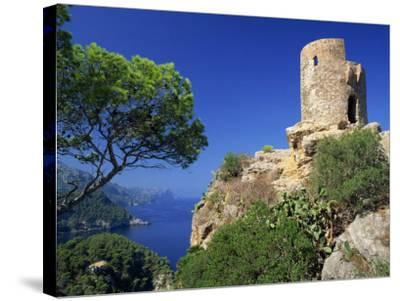 Mirador of Ses Animes, Mallorca, Balearic Islands, Spain, Mediterranean, Europe-Tomlinson Ruth-Stretched Canvas Print