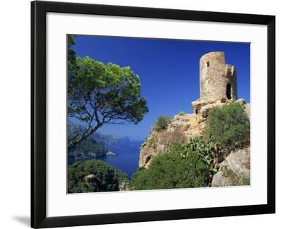 Mirador of Ses Animes, Mallorca, Balearic Islands, Spain, Mediterranean, Europe-Tomlinson Ruth-Framed Photographic Print