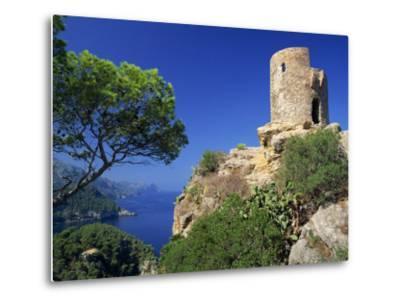 Mirador of Ses Animes, Mallorca, Balearic Islands, Spain, Mediterranean, Europe-Tomlinson Ruth-Metal Print