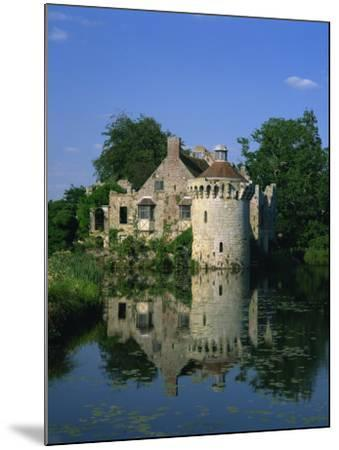 Castle Reflected in Lake, Scotney Castle, Near Lamberhurst, Kent, England, United Kingdom, Europe-Tomlinson Ruth-Mounted Photographic Print
