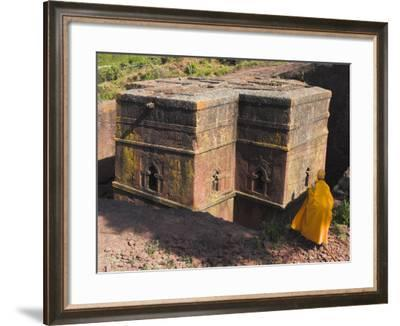 Rock-Hewn Church of Bet Giyorgis, Lalibela, Ethiopia-Jane Sweeney-Framed Photographic Print
