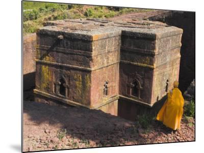 Rock-Hewn Church of Bet Giyorgis, Lalibela, Ethiopia-Jane Sweeney-Mounted Photographic Print