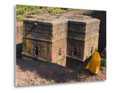 Rock-Hewn Church of Bet Giyorgis, Lalibela, Ethiopia-Jane Sweeney-Metal Print